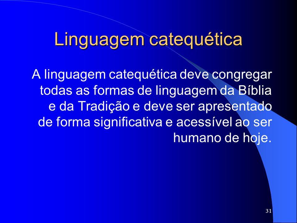 Linguagem catequética