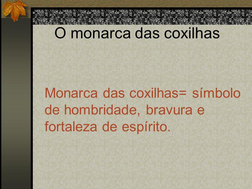 O monarca das coxilhasMonarca das coxilhas= símbolo de hombridade, bravura e fortaleza de espírito.