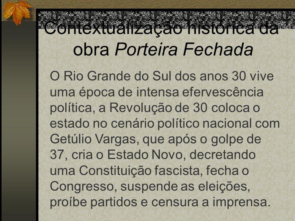 Contextualização histórica da obra Porteira Fechada