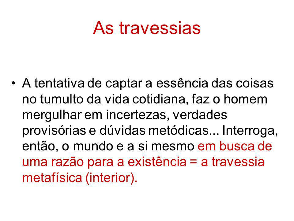 As travessias