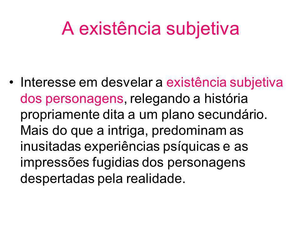 A existência subjetiva