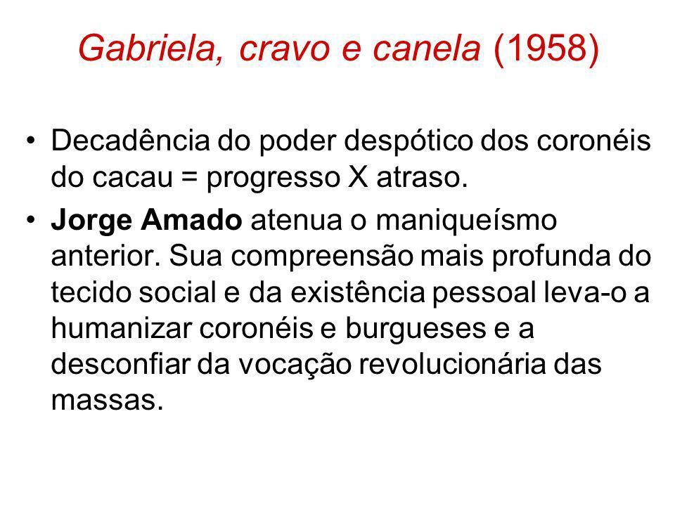 Gabriela, cravo e canela (1958)