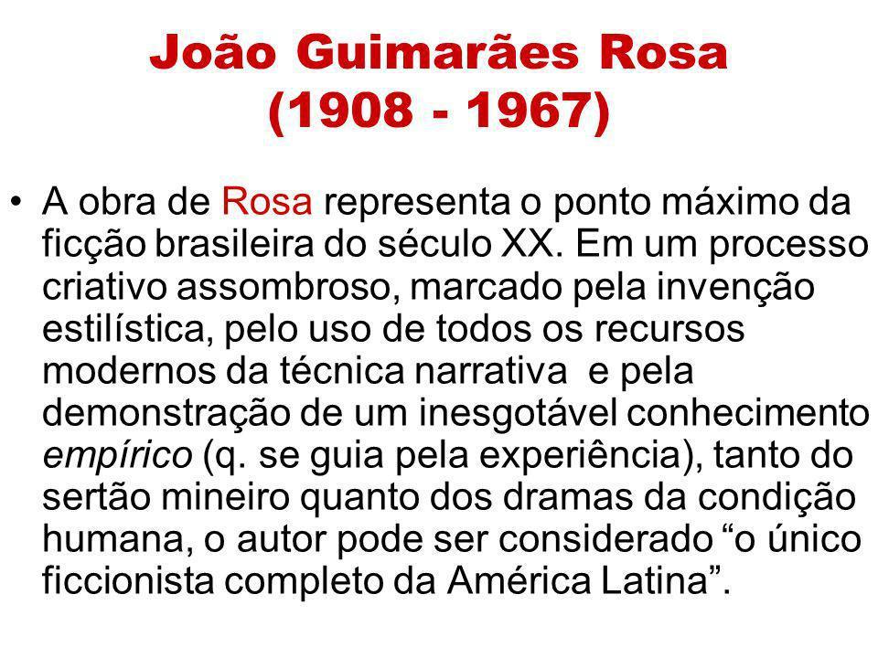 João Guimarães Rosa (1908 - 1967)