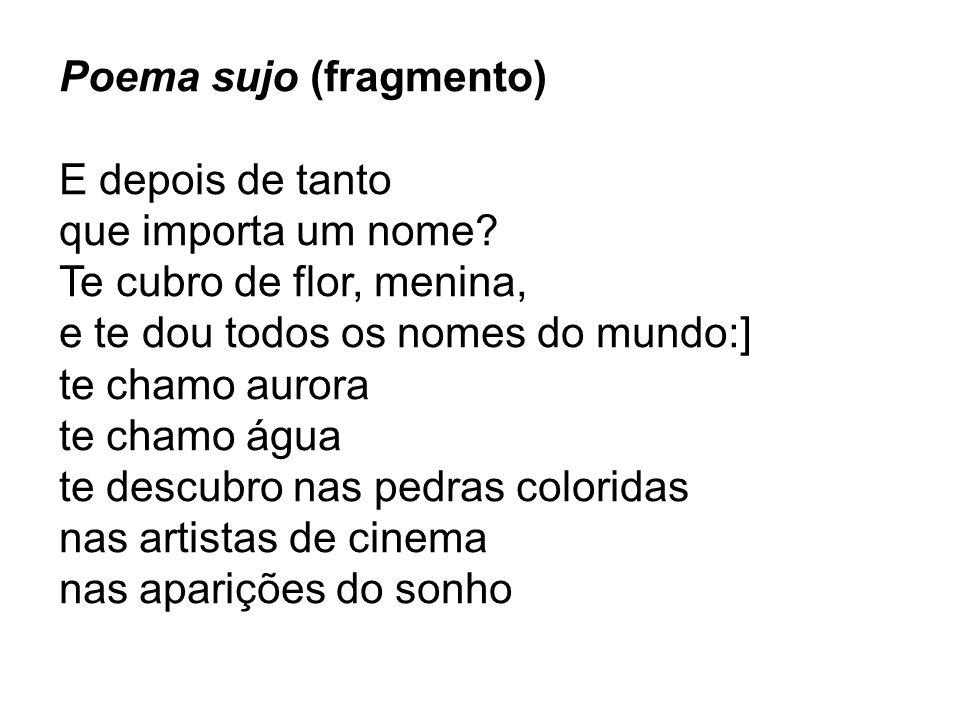 Poema sujo (fragmento)