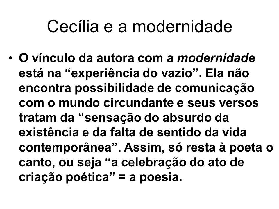 Cecília e a modernidade