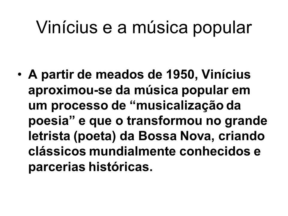 Vinícius e a música popular