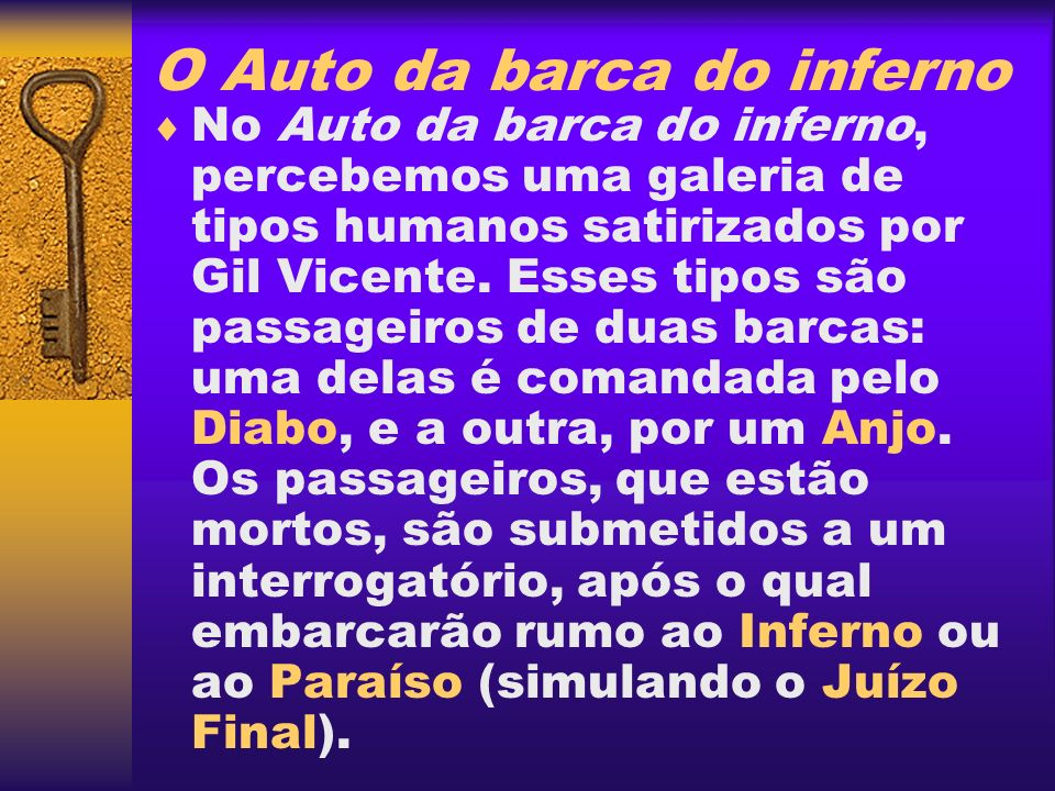 O Auto da barca do inferno