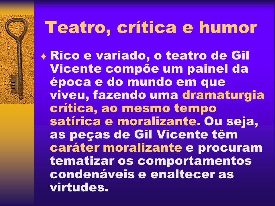 Teatro, crítica e humor