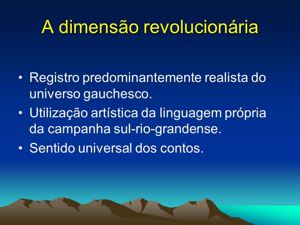 A dimensão revolucionária