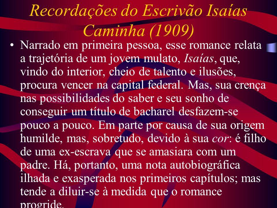 Recordações do Escrivão Isaías Caminha (1909)