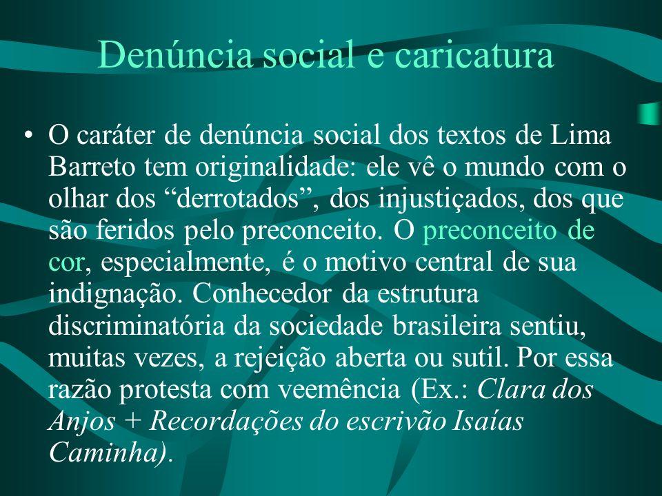 Denúncia social e caricatura
