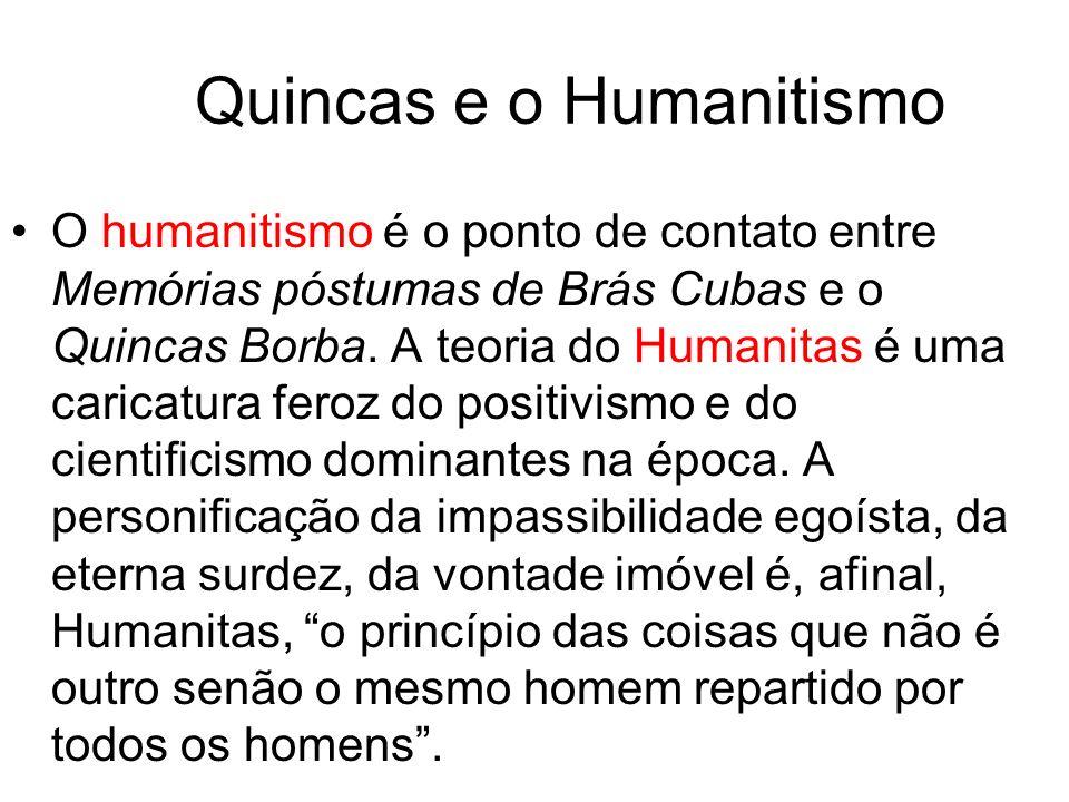 Quincas e o Humanitismo