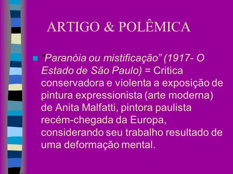 ARTIGO & POLÊMICA