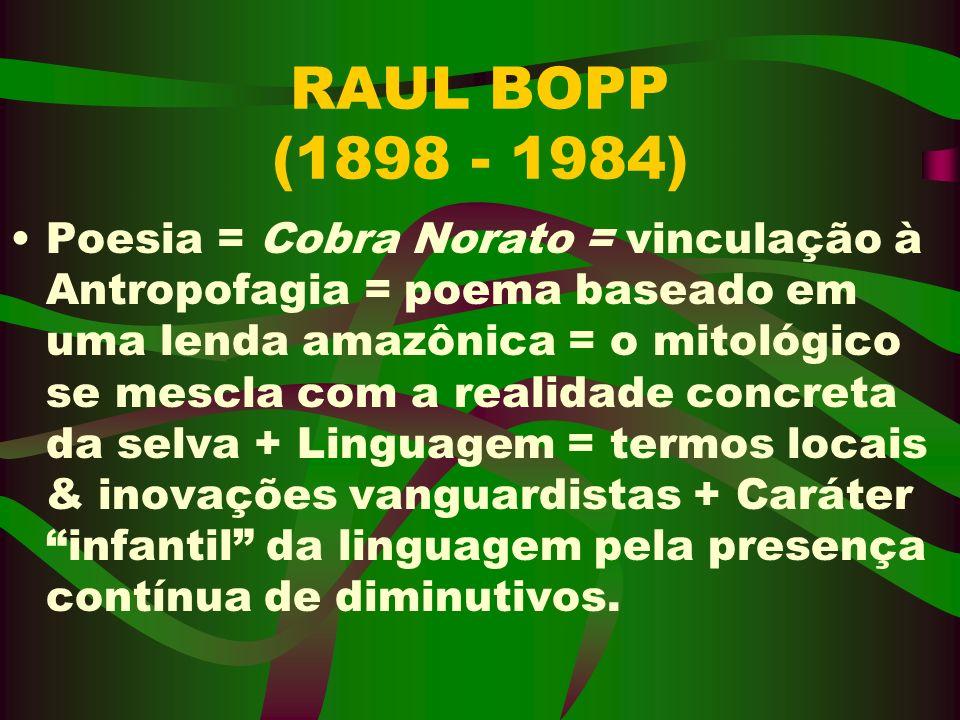 RAUL BOPP (1898 - 1984)