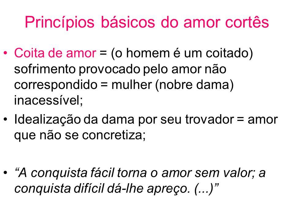 Princípios básicos do amor cortês