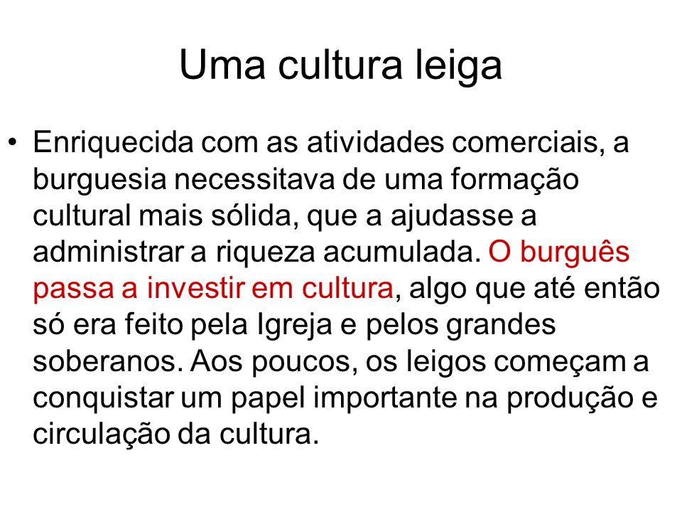 Uma cultura leiga
