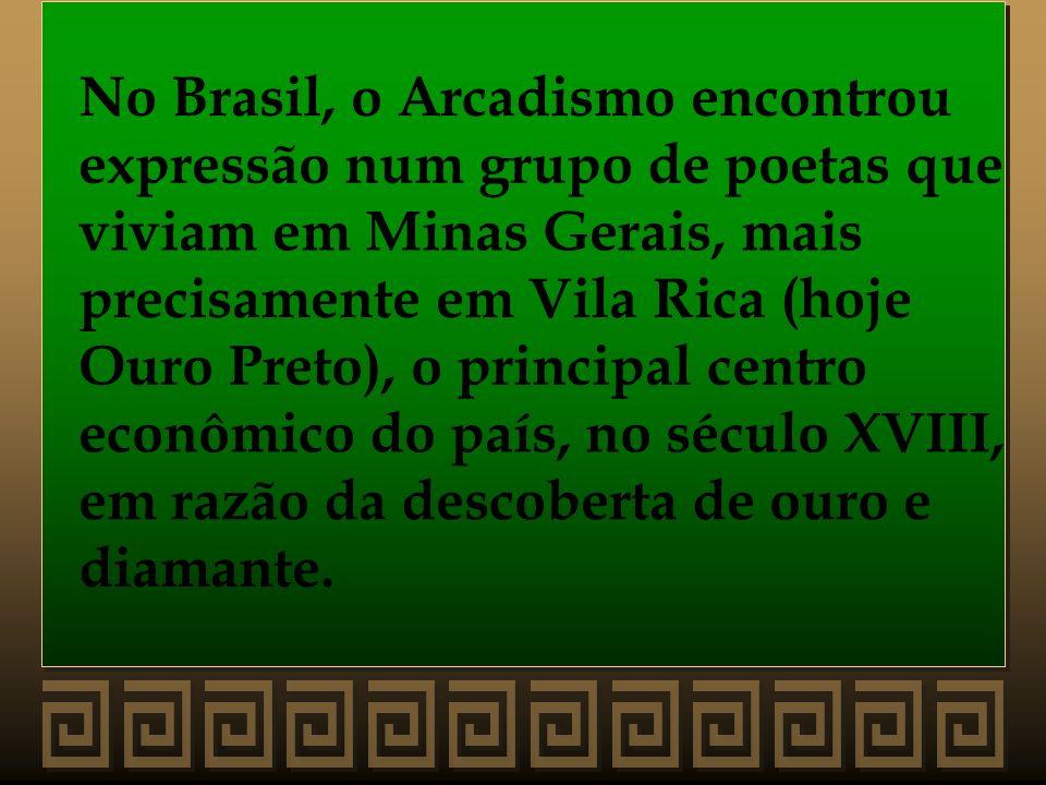 No Brasil, o Arcadismo encontrou