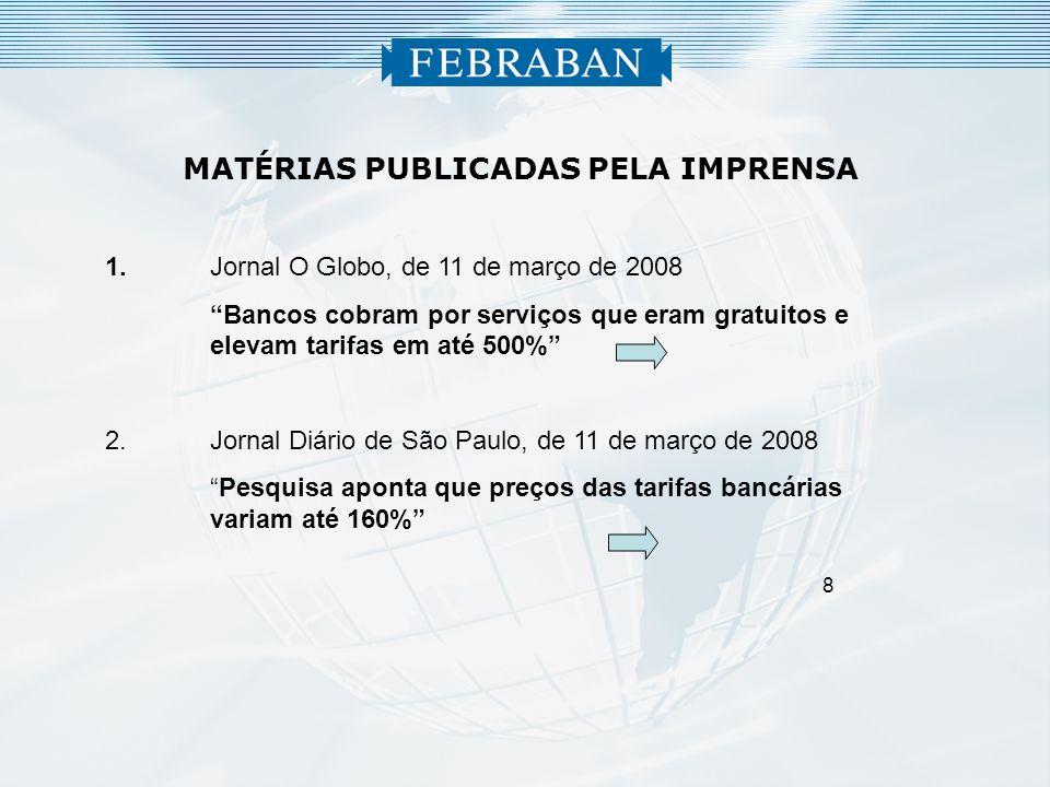 MATÉRIAS PUBLICADAS PELA IMPRENSA