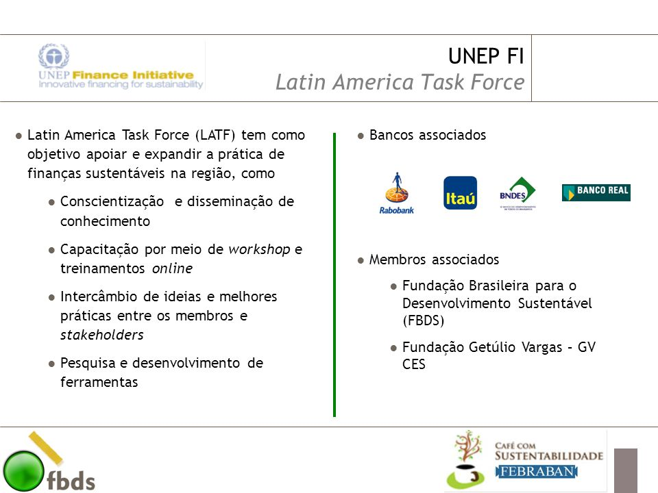 UNEP FI Latin America Task Force