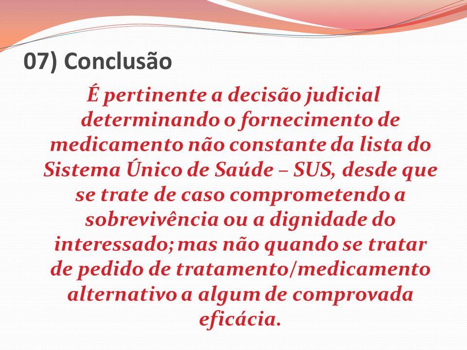 07) Conclusão