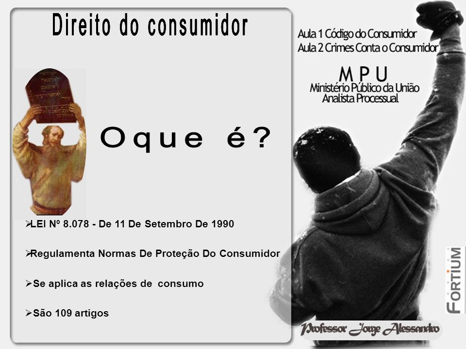 Direito do consumidor Direito do consumidor Direito do consumidor