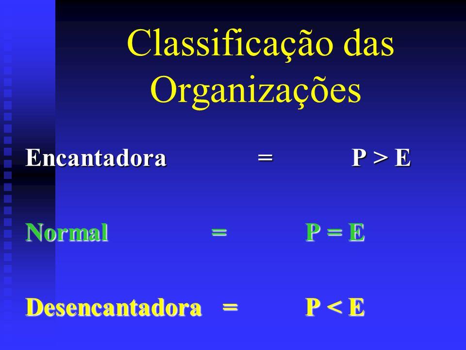 Classificação das Organizações