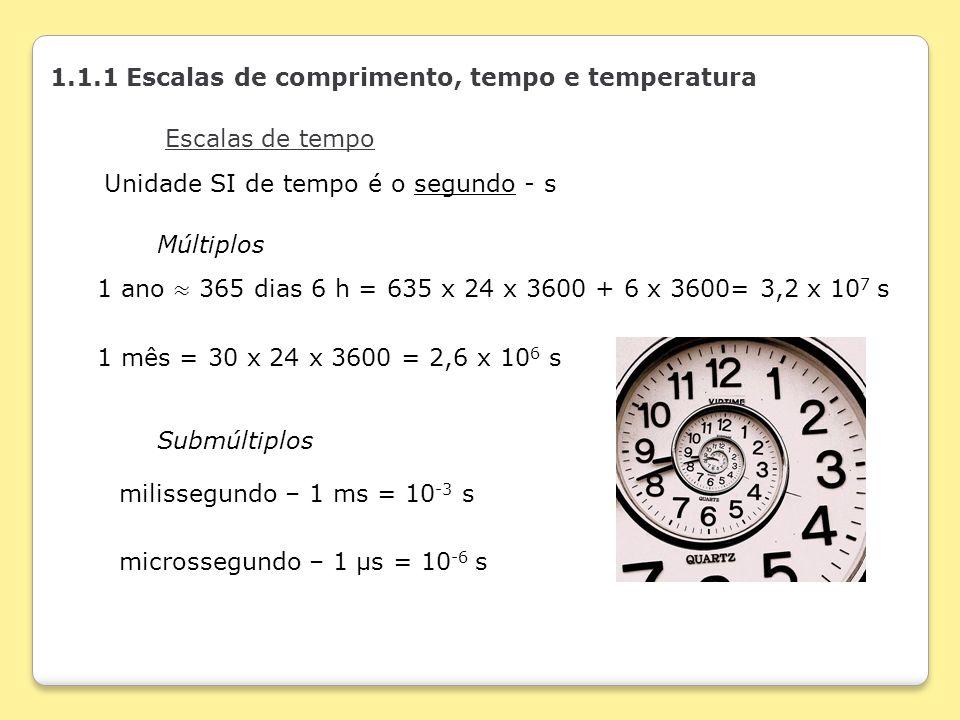 Tempo De Acreditar E Sonhar Ppt Carregar: 1.1.1 Escalas De Comprimento, Tempo E Temperatura