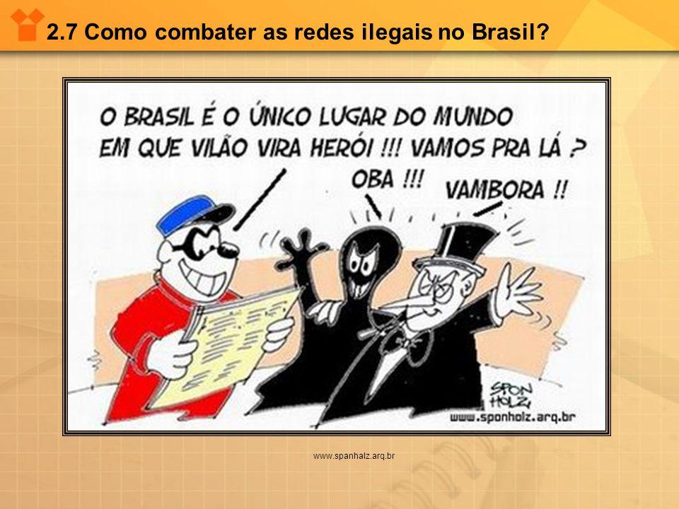 2.7 Como combater as redes ilegais no Brasil