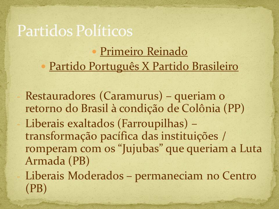Partido Português X Partido Brasileiro