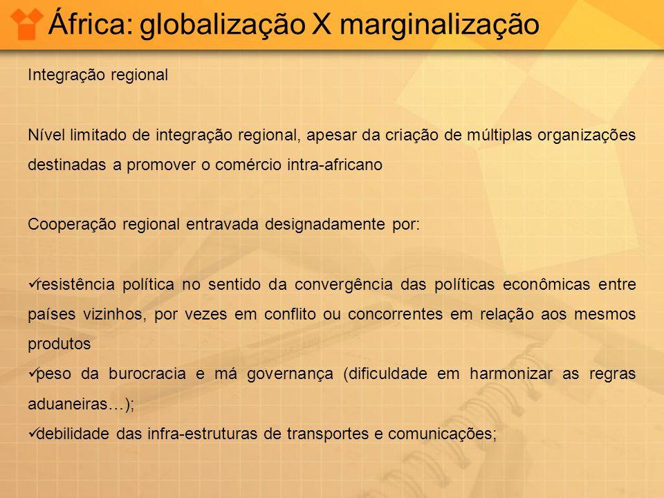 África: globalização X marginalização