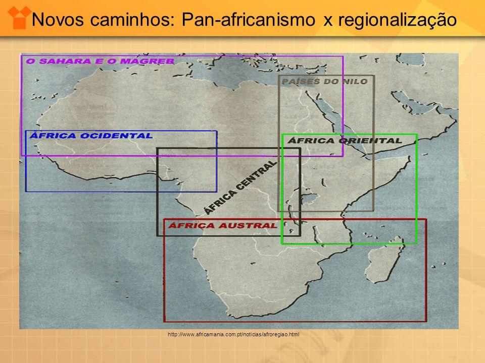 Novos caminhos: Pan-africanismo x regionalização
