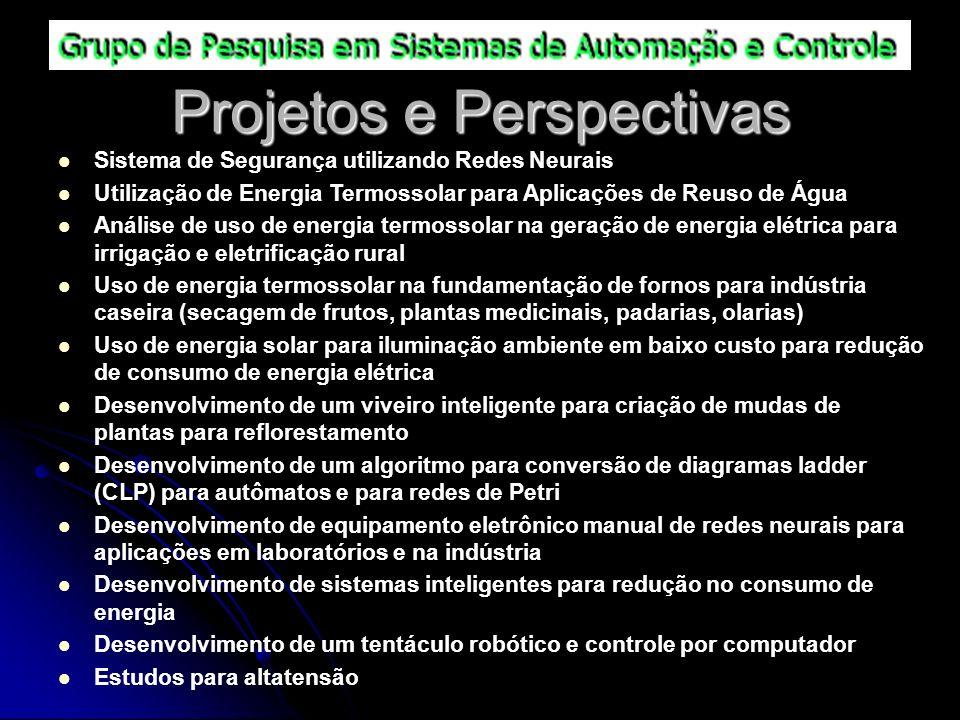 Projetos e Perspectivas