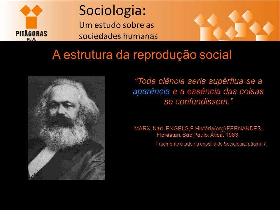 A estrutura da reprodução social