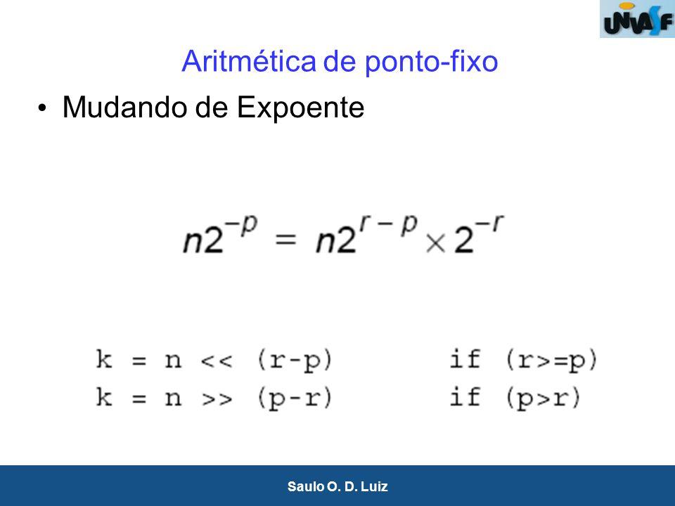 Aritmética de ponto-fixo
