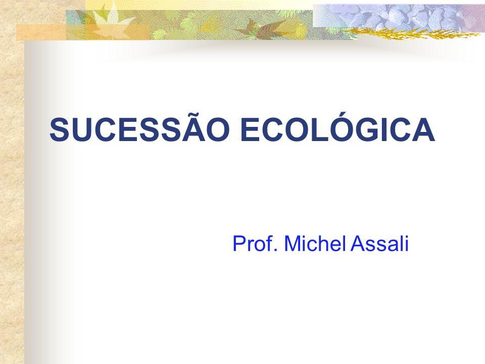 SUCESSÃO ECOLÓGICA Prof. Michel Assali