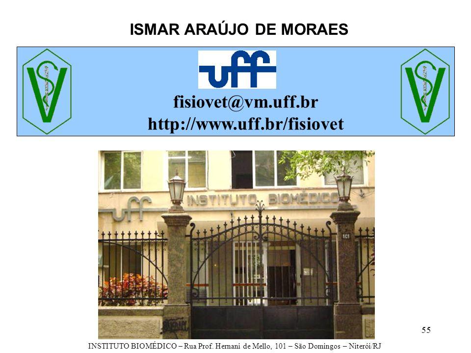 fisiovet@vm.uff.br http://www.uff.br/fisiovet