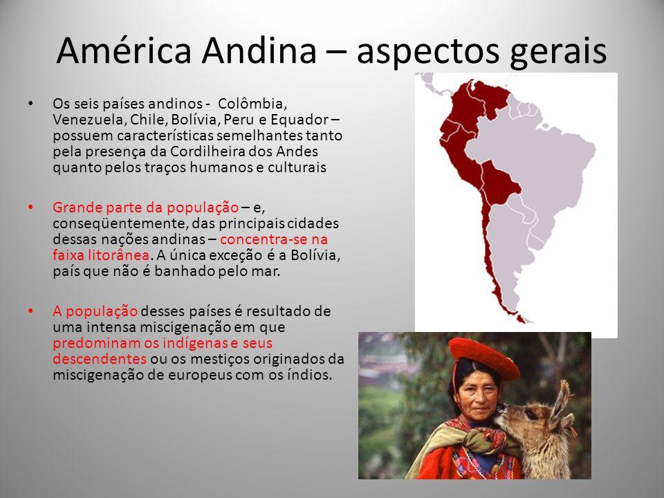 América Andina – aspectos gerais