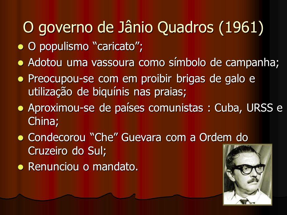 O governo de Jânio Quadros (1961)