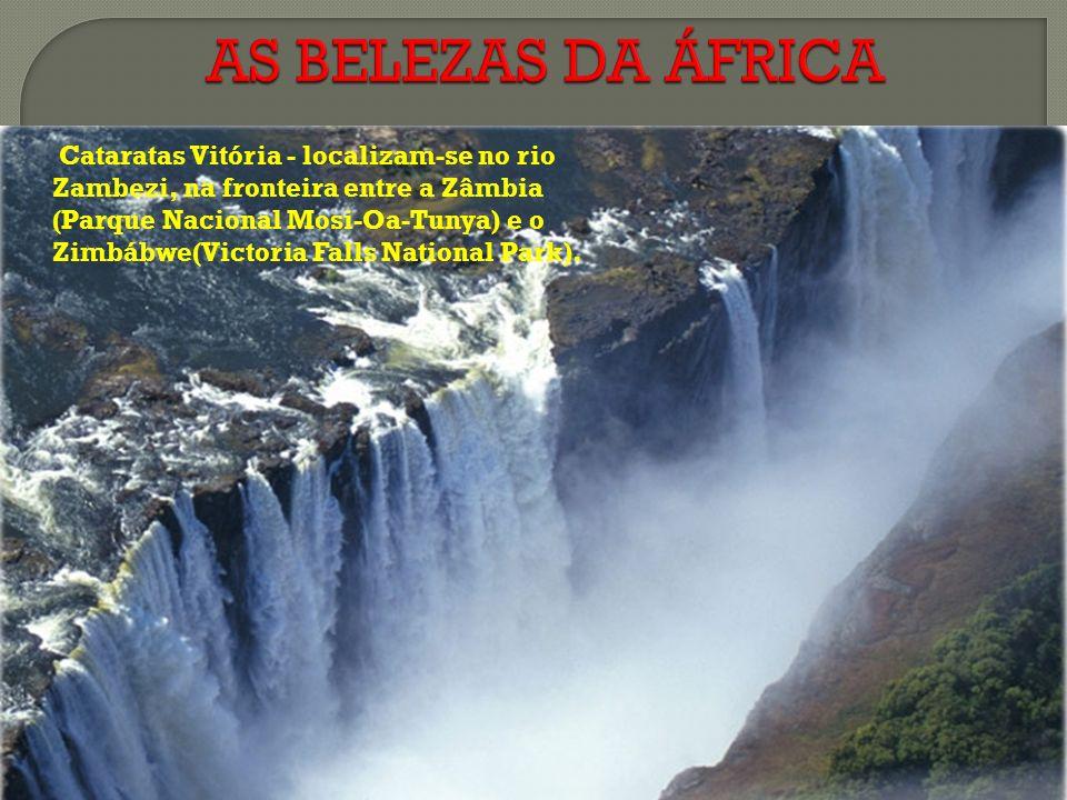 AS BELEZAS DA ÁFRICA
