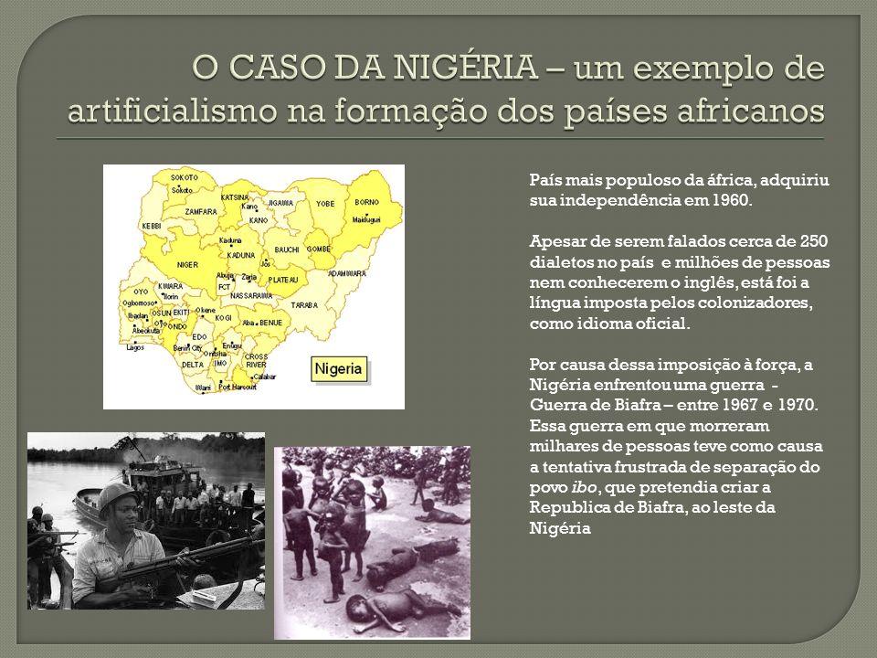 O CASO DA NIGÉRIA – um exemplo de artificialismo na formação dos países africanos