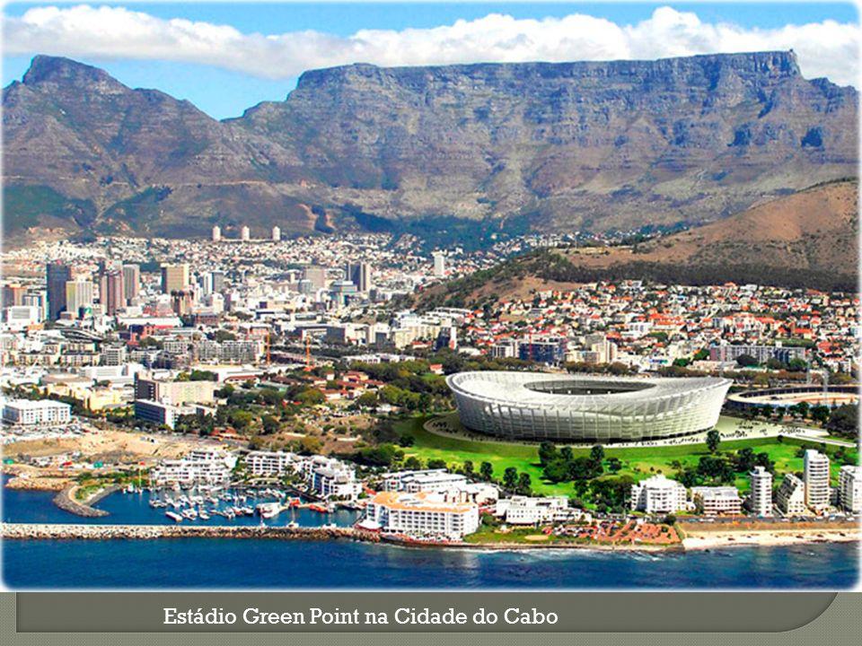 Estádio Green Point na Cidade do Cabo