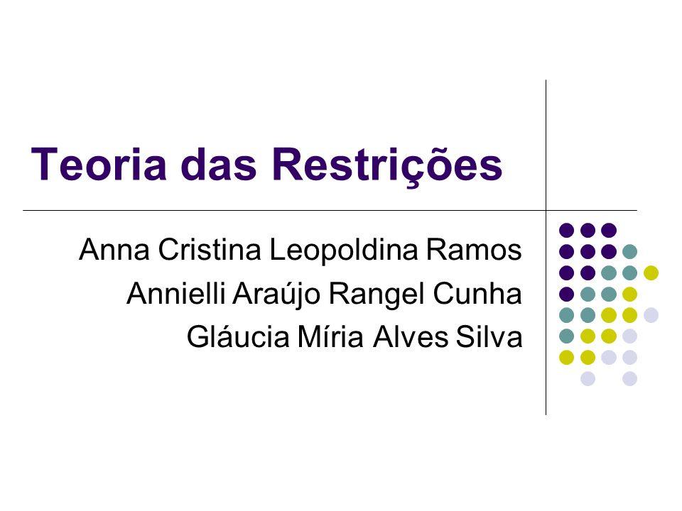 Teoria das Restrições Anna Cristina Leopoldina Ramos