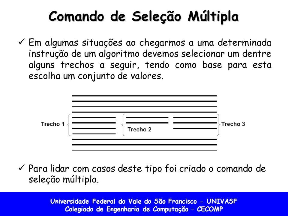 Comando de Seleção Múltipla