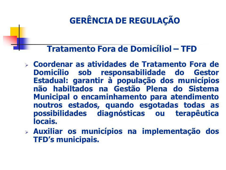 Tratamento Fora de Domicíliol – TFD
