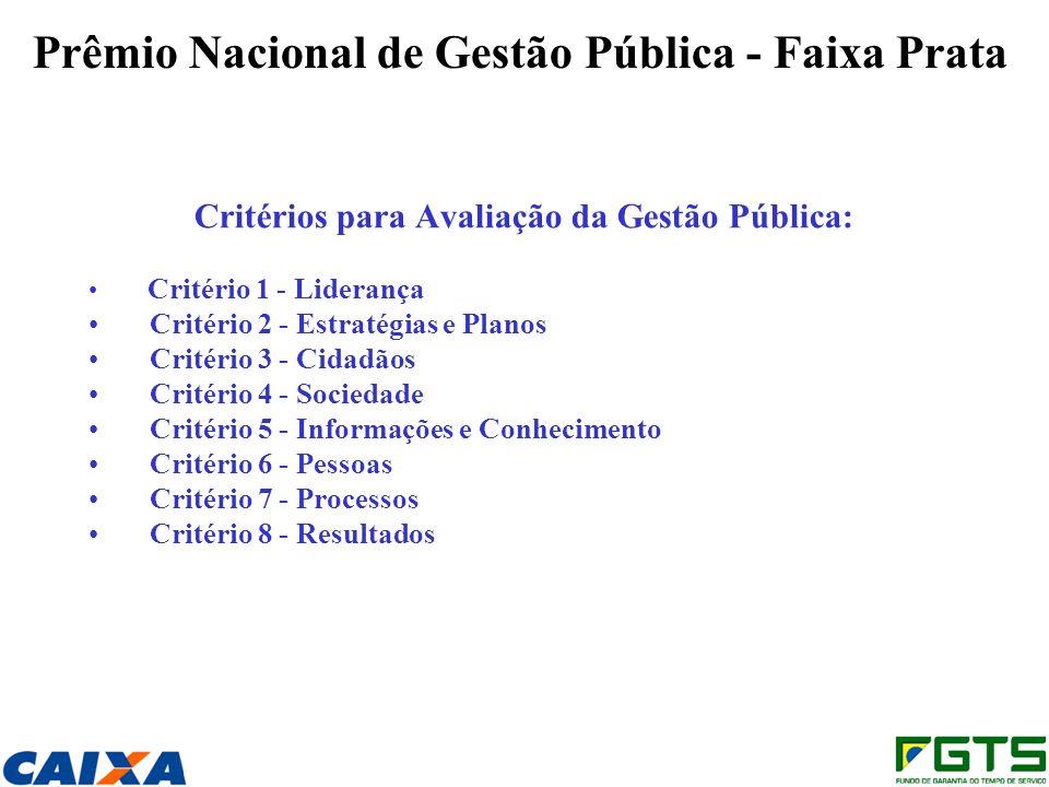 Prêmio Nacional de Gestão Pública - Faixa Prata