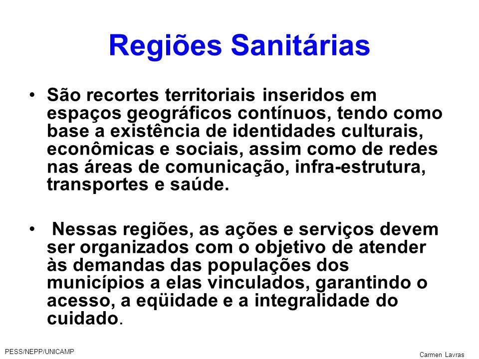 Regiões Sanitárias
