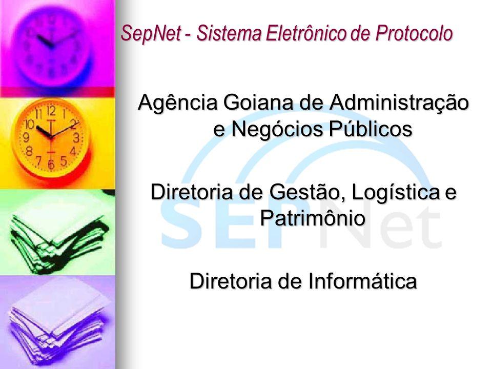 SepNet - Sistema Eletrônico de Protocolo
