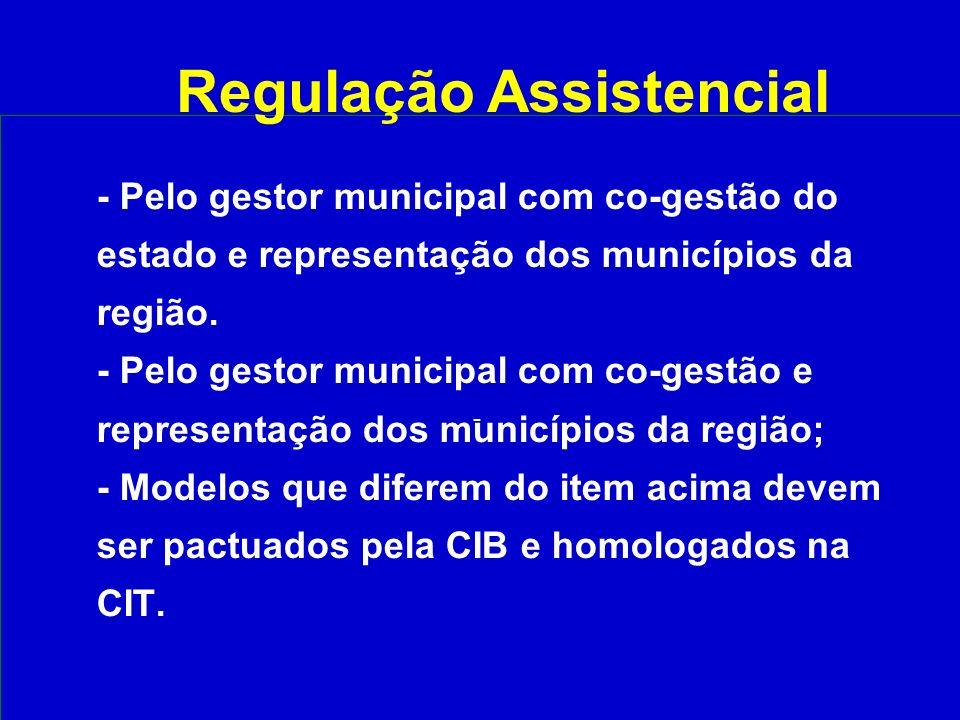 Regulação Assistencial