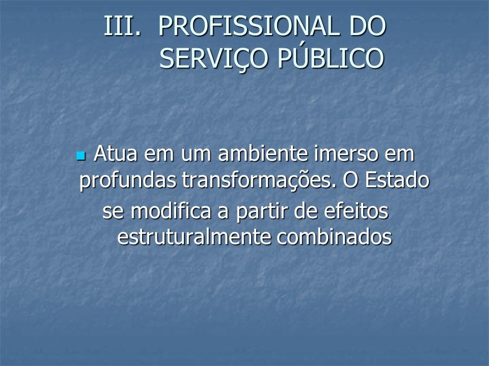 PROFISSIONAL DO SERVIÇO PÚBLICO