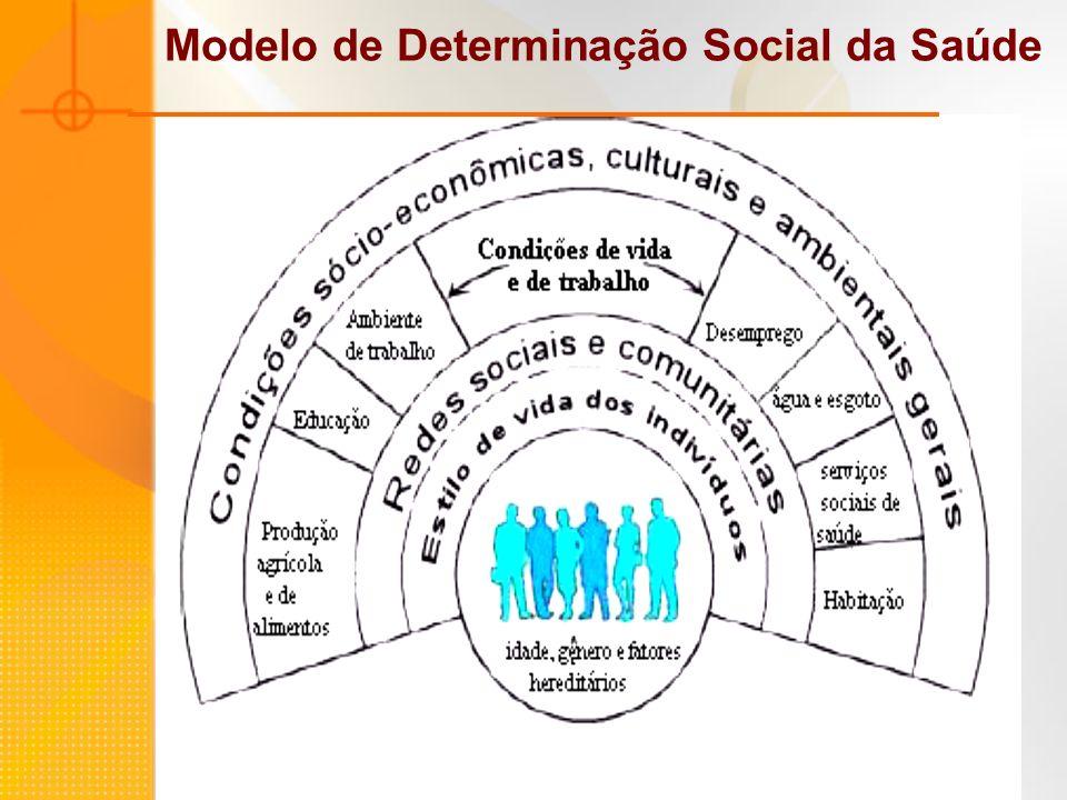 Modelo de Determinação Social da Saúde